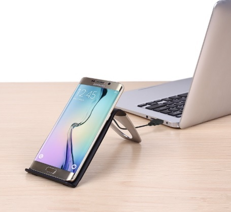 Porta cellulare caricabatterie wireless