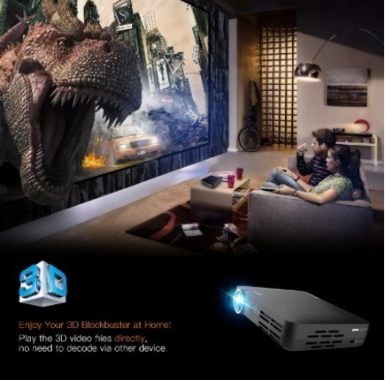 Videoproiettore Per La Casa In 3d System Android