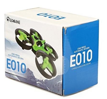 Mini drone telecomandato verde