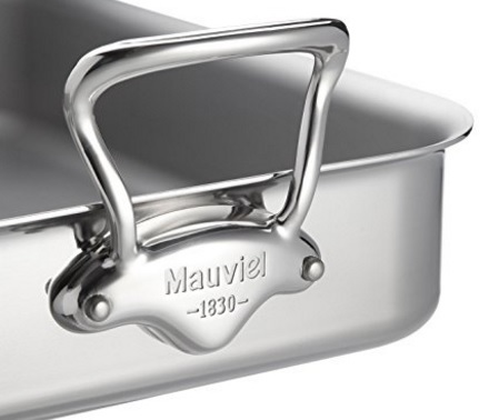 Pentola alluminio rinforzata con maniglie sicurezza