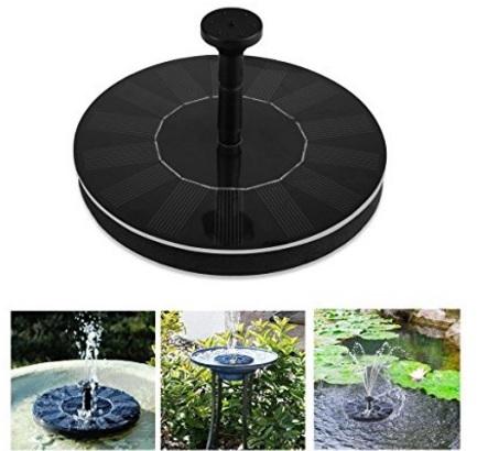 Pannello galleggiante per fontana e giardino