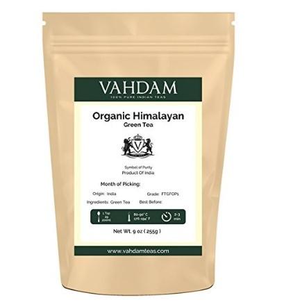 Foglie di tè dell'himalaya naturale