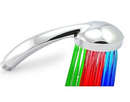 Doccia led luminosa 7 colori soffione