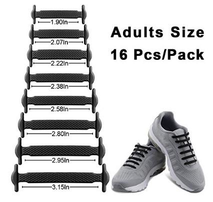 Lacci per le scarpe in gomma ed elastiche