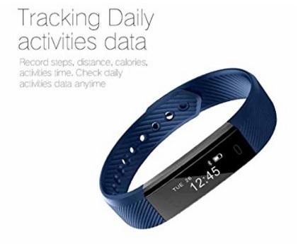Braccialetto activity tracker smarter touch