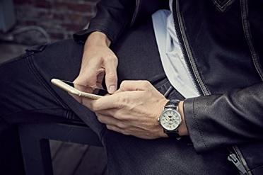 Orologio uomo design elegante time100