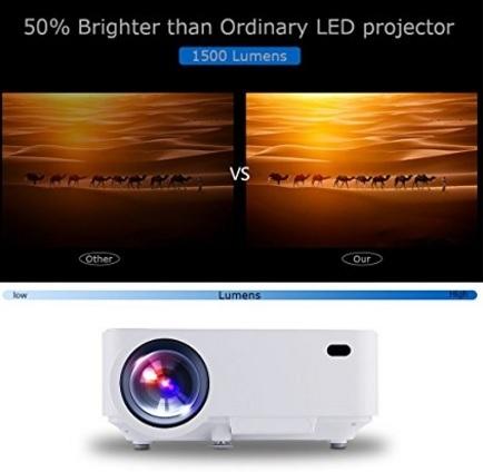 Mini proiettore home cinema smartphone