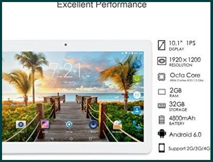 Tablet 10 pollici fhd ips con display artizlee