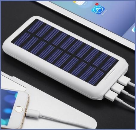 Caricabatterie Portatile Energia Solare