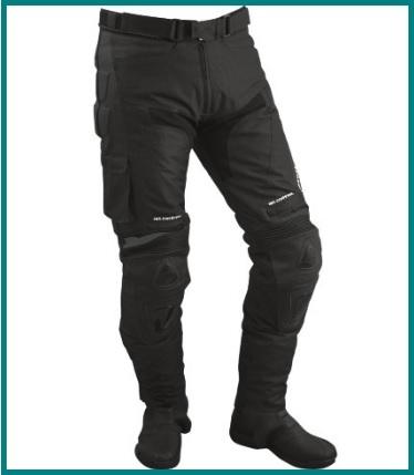 Pantaloni in tessuto per motociclisti