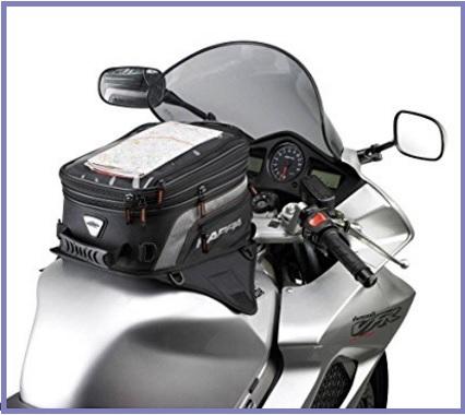 Borsa da serbatoio trasportabile in moto