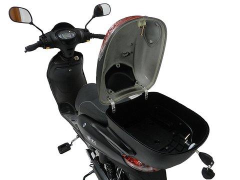 Scooter Elettrico Nero Con Pedalata Assistita