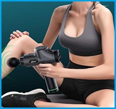 Pistola massaggiatrice corpo