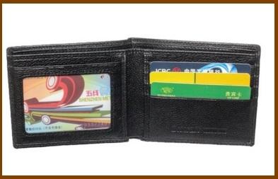 Super offerta portafoglio super slim da uomo