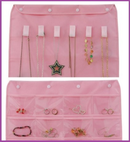 Organizzatore per gioielli con 30 tasche