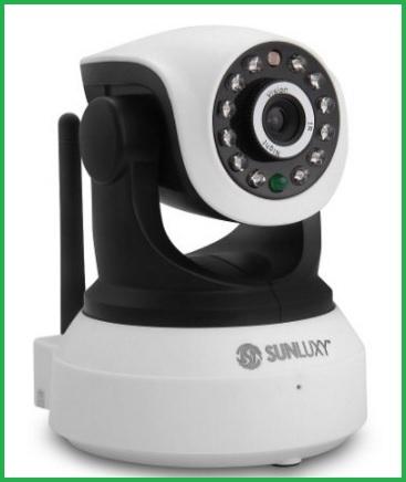 Security videocamera wireless con visore notturno