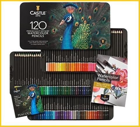 Matite colorate per pittura e disegno con confezione protett