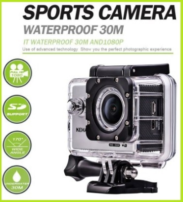 Camera Sport Stile Gopro Impermeabile