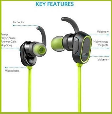 Auricolari moderni per praticare sport e ascoltare musica