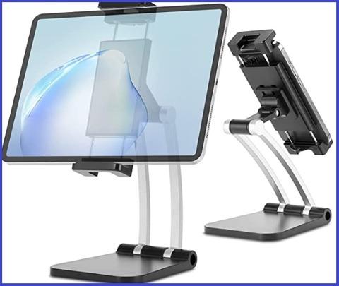 Supporto da tavolo per smartphone e tablet pratico