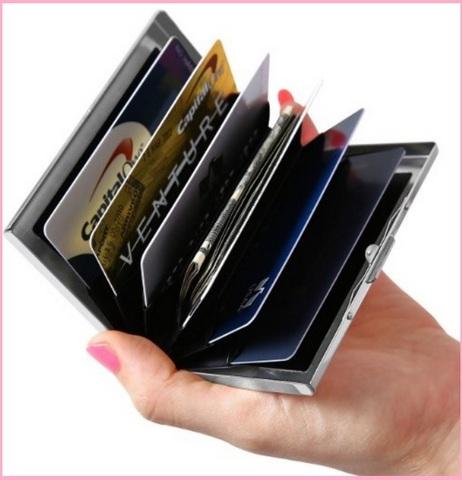 Porta carte di credito professionale e unisex