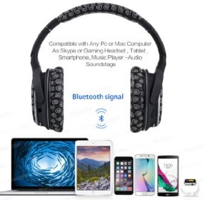Cuffie Wireless Con Bluetooth Alta Tecnologia
