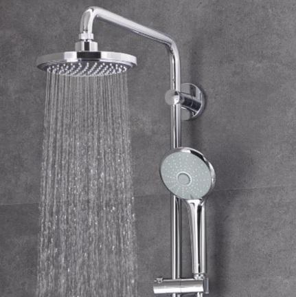 Miscelatore per la doccia con monogetto