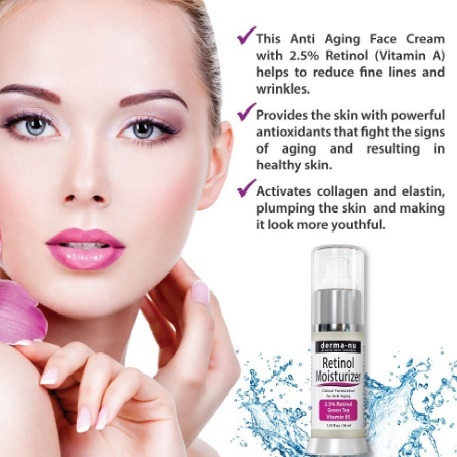 Crema detergente e anti invecchiamento retinolo