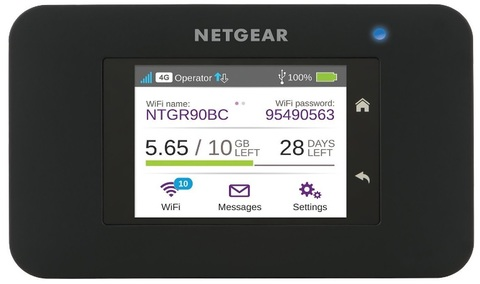 Netgear Router Mobile Touch Screen 4g Lte Wi Fi