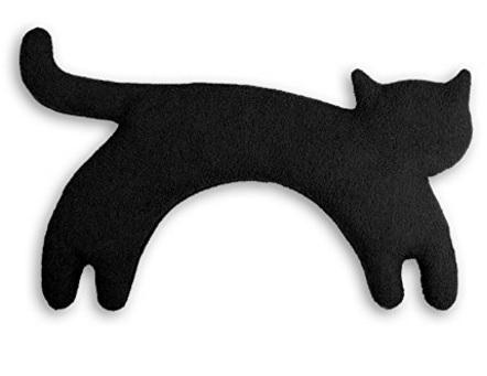 Cuscino riscaldabile per il collo a forma di gatto