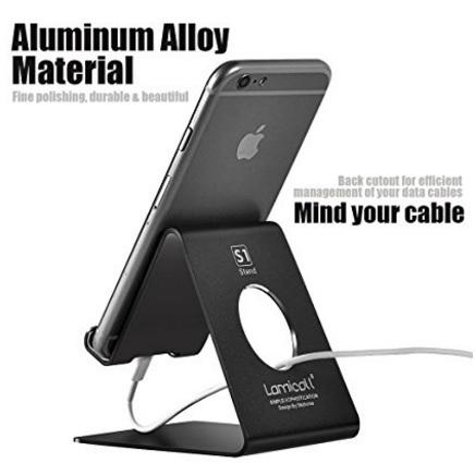 Supporto telefono universale per ricaricare in alluminio