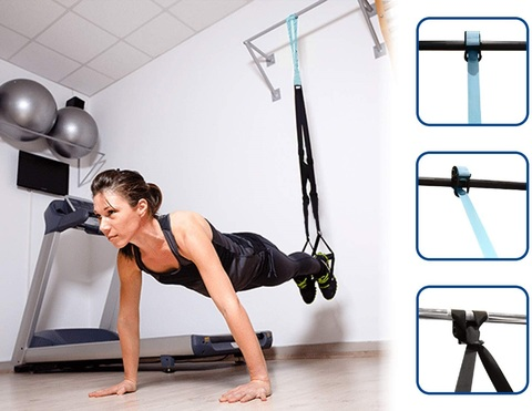 Trainer suspension per allenamenti in casa
