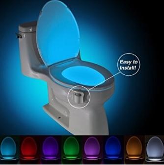 Lampada per il wc, colorata, led notturno