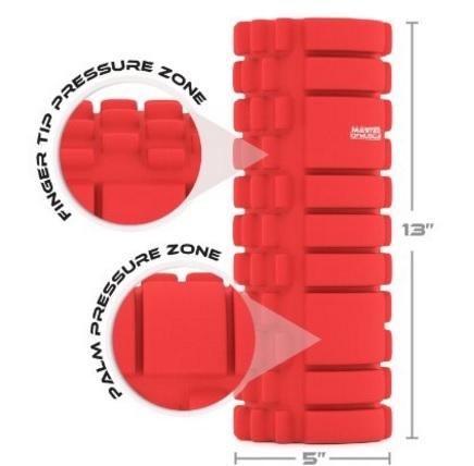 Rullo foam roller per automassaggio facile da usare