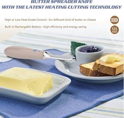 Coltello riscaldamento per burro automatico