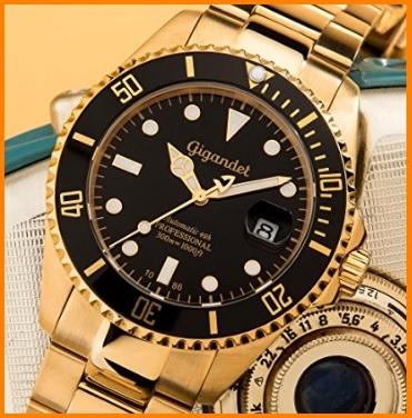 Orologio subacqueo automatico analogico da uomo gigandet