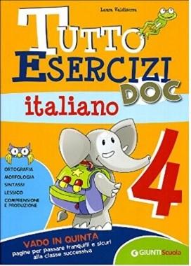 Testo doc in italiano con esercizi scuola elementare
