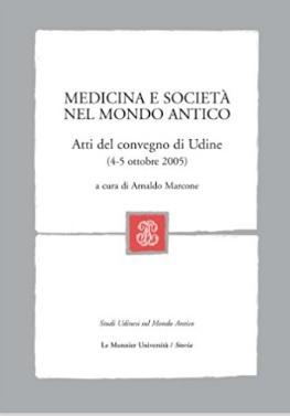 Medicina e società del mondo antico interessante volume
