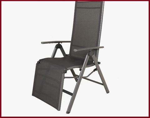 Sdraio Relax In Alluminio Con Braccioli