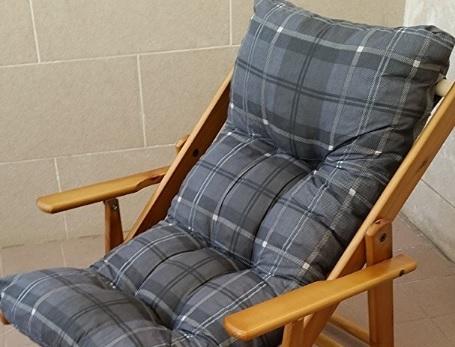 Poltrona relax sdraio in legno