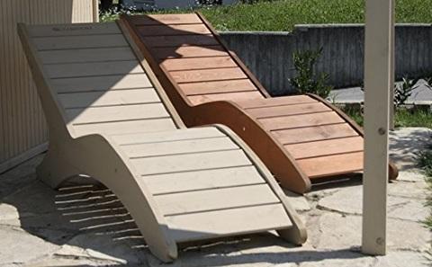 Sdraio Benessere Per Sauna