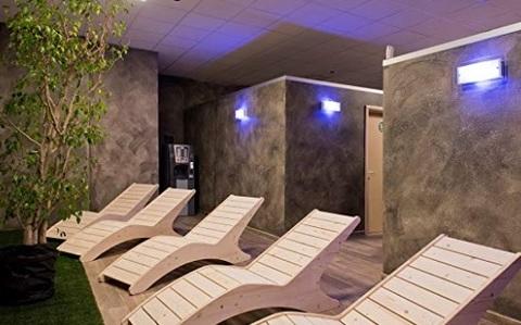 Sdraio relax per sauna legno
