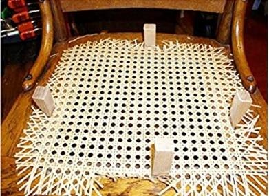 Kit riparazione e sostituzione sedie in paglia di vienna