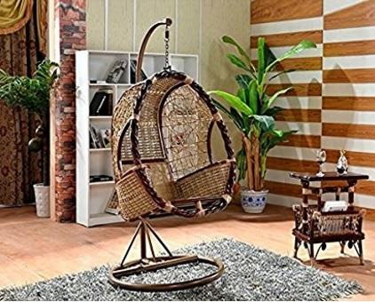 Sedia In Bambù Appesa E Ottima Per Il Giardino