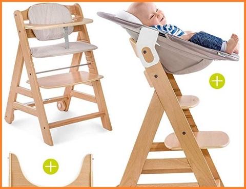 Seggiolone per bambini legno