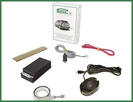 Sensori di parcheggio posteriore senza foro