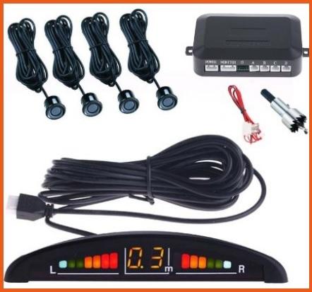 Sensori da applicare all'auto per parcheggio