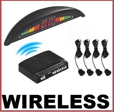 Sensori Parcheggio Wireless Con Display