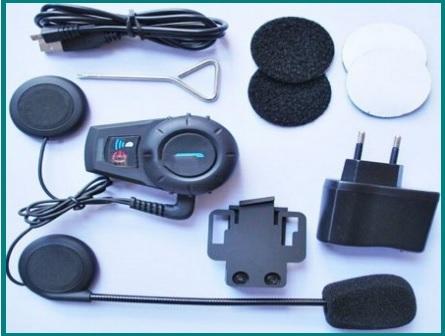 Cuffie Mp3 Auricolare Wireless Per La Moto