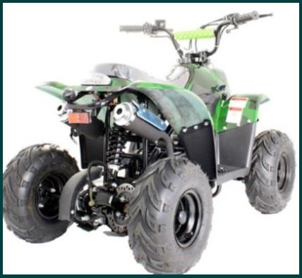 Quad A Motore 4 Tempi Con Ruote Grandi